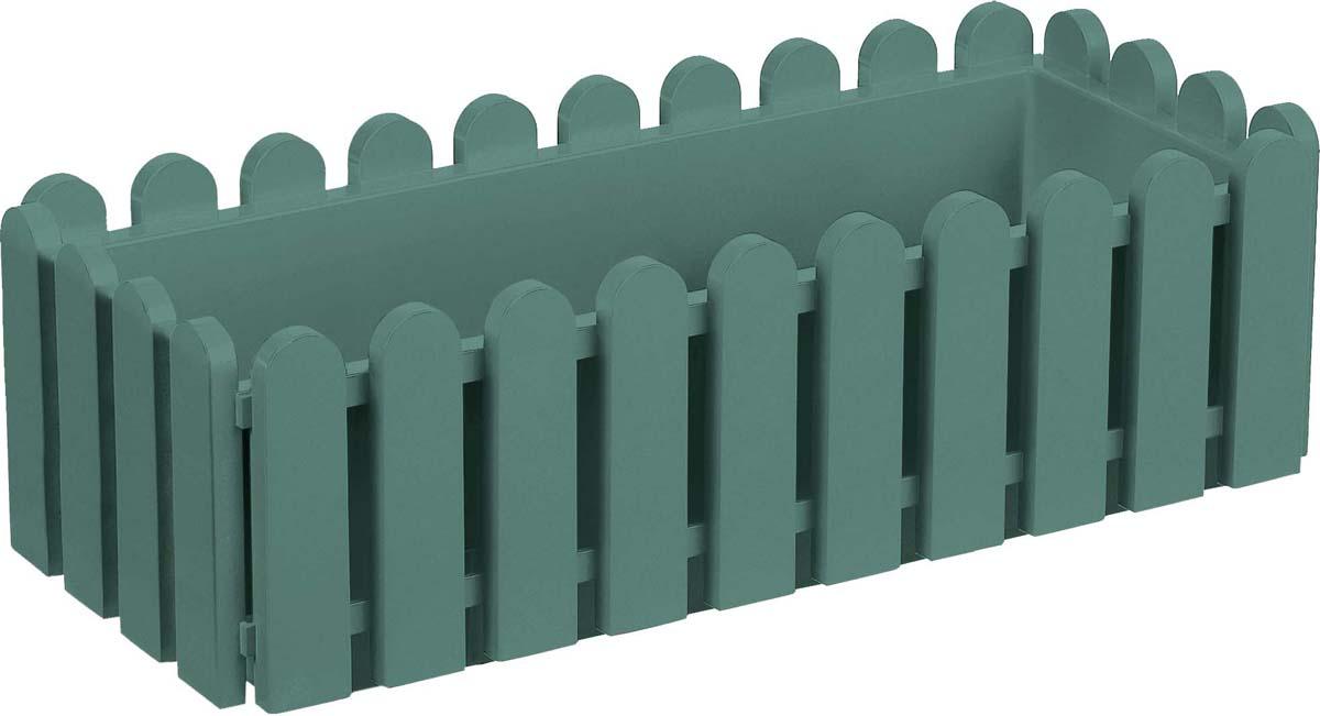 Ящик балконный Emsa Landhaus, цвет: темно-зеленый, 50 х 20 х 16 см цена