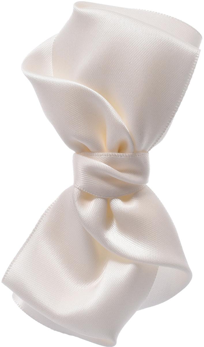 Заколка для волос Malina By Андерсен, цвет: белый. 21804тб0221804тб02Аксессуары коллекции Орнелла являются олицетворением обаяния итальянской актрисы. Изделия состоят из уникального сплетения двусторонней ленты и способны сделать на себе необычайно яркий акцент.