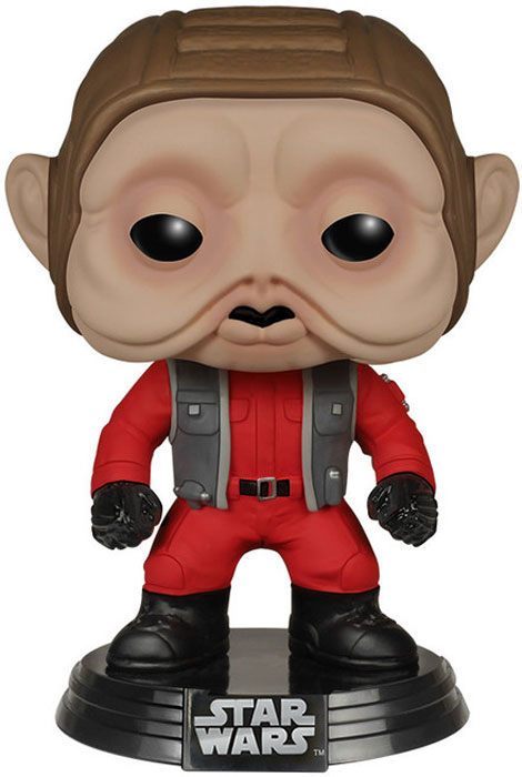 Funko POP! Bobble Фигурка Star Wars E7 TFA Nien Nunb (POP 17) 6586 funko pop bobble фигурка star wars rogue one young jyn erso 14872