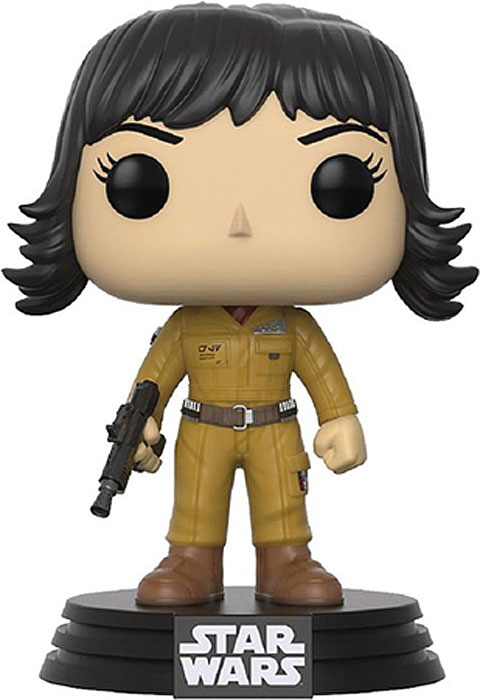 Funko POP! Bobble Фигурка Star Wars E8 TLJ Rose (POP 13) 14754 funko pop bobble фигурка star wars rogue one young jyn erso 14872