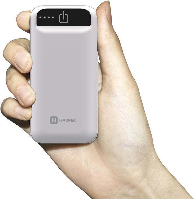Harper PB-2605, White внешний аккумулятор (5000 мАч) цена