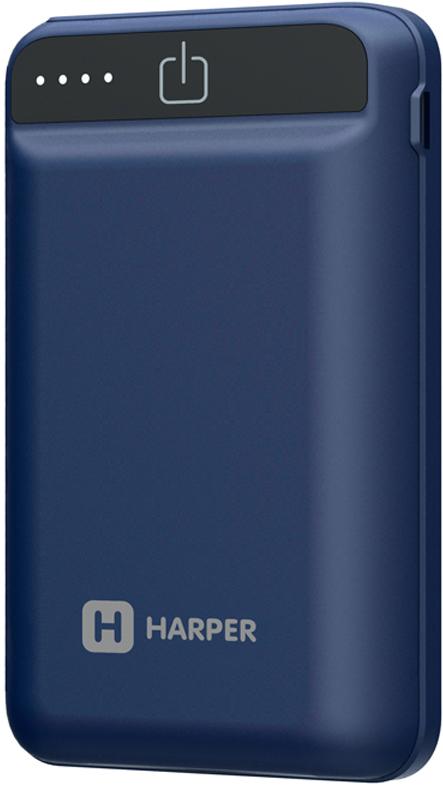 Harper PB-2612, Blue внешний аккумулятор (12000 мАч)