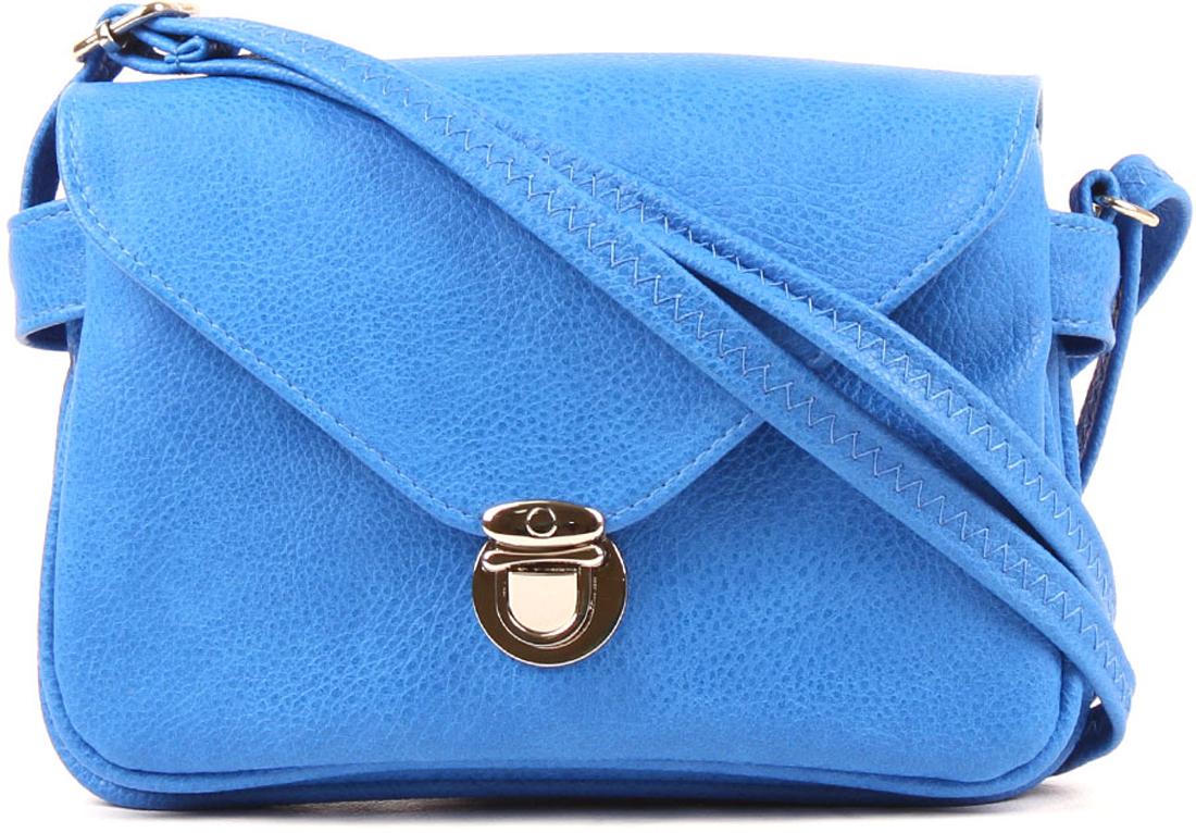 Сумка кросс-боди женская Медведково цвет: синий. 18с3105-к14 сумка шоппер женская медведково цвет темно синий 16с3492 к14