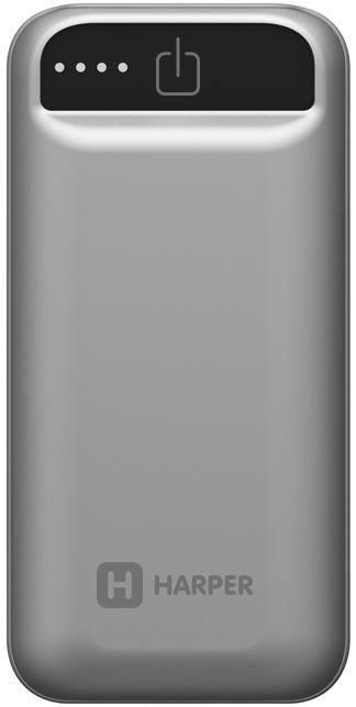 Фото - Harper PB-2605, Grey внешний аккумулятор (5000 мАч) аккумулятор