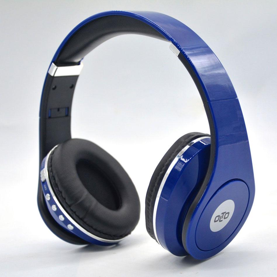 купить Беспроводные наушники OLTO HBO-155, синий онлайн