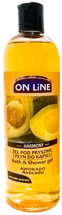 купить Forte Sweden On Line Гель для душа и пена для ванны 2 в 1 с экстрактом авокадо, 500 мл по цене 449 рублей