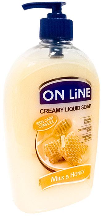 Forte Sweden On Line Жидкое мыло Молоко и мед, 500 мл