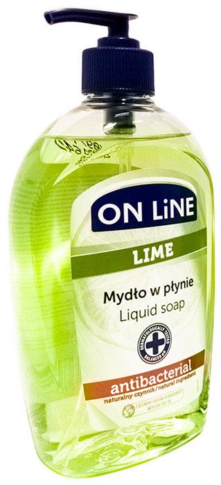 Forte Sweden On Line жидкое мыло с антибактериальным эффектом Lime, 500 мл