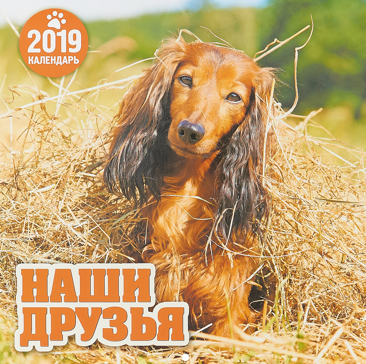 Календарь перекидной на 2019 год. Наши друзья цены
