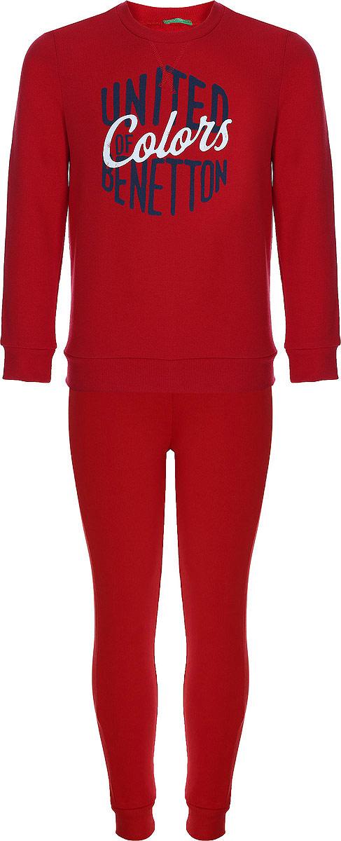 Спортивный костюм United Colors of Benetton спортивный костюм для мальчика united colors of benetton цвет серый 3j68z11nh 901 размер 120