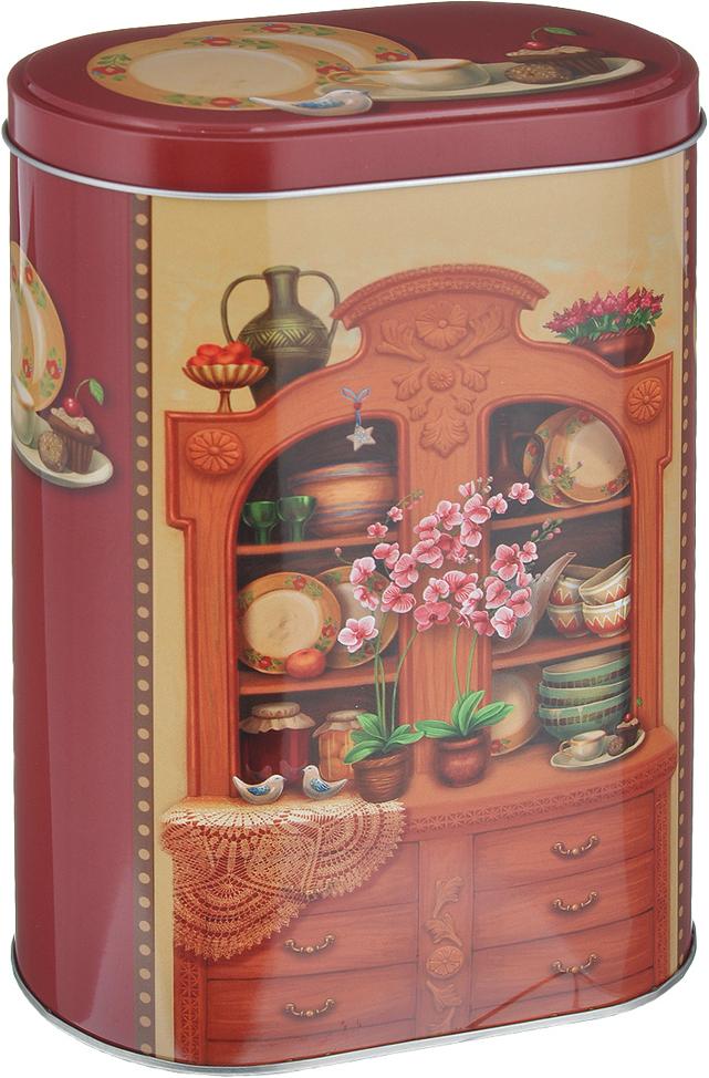 Банка для сыпучих продуктов Феникс-презент Бабушкин сервант, 1,7 л банка для сыпучих продуктов феникс презент кофе 680 мл