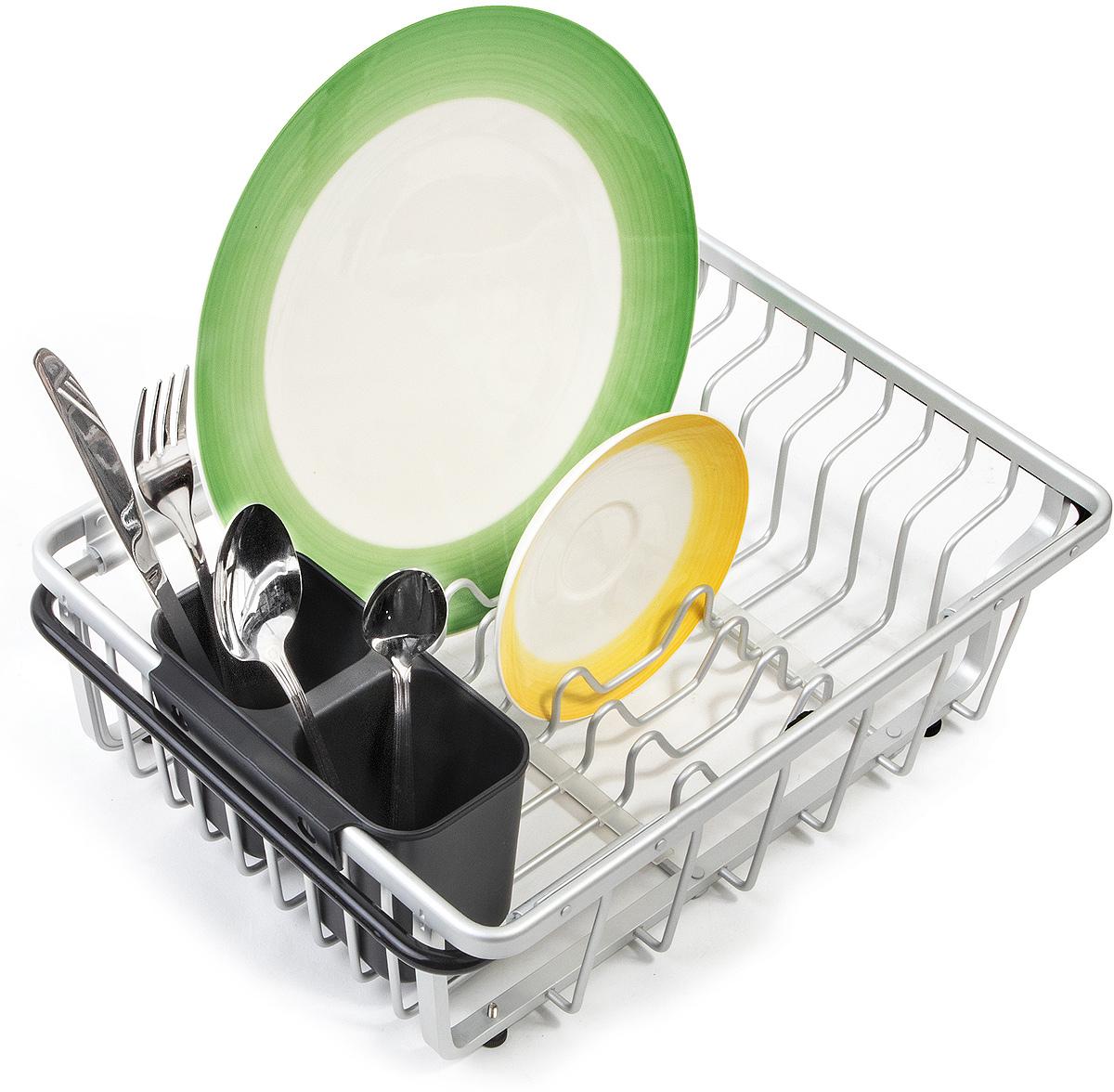 """Сушилка для посуды Tatkraft """"Brainy"""", на раковину, 54 х 13 х 28 см"""