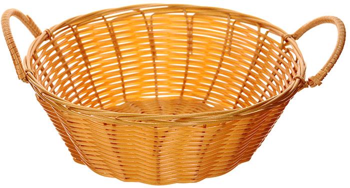 Корзинка плетеная Oriental Way Мульти, круглая. Диаметр 20,5 см корзинка для хранения garden rattan