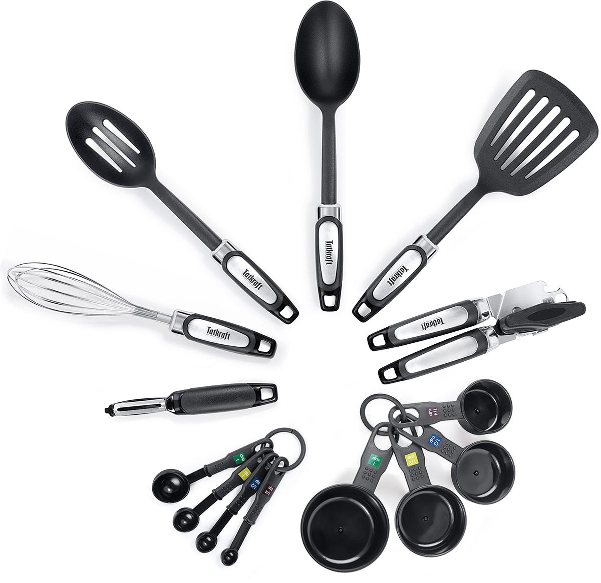 """Набор кухонный Tatkraft """"Grip"""", 14 предметов"""