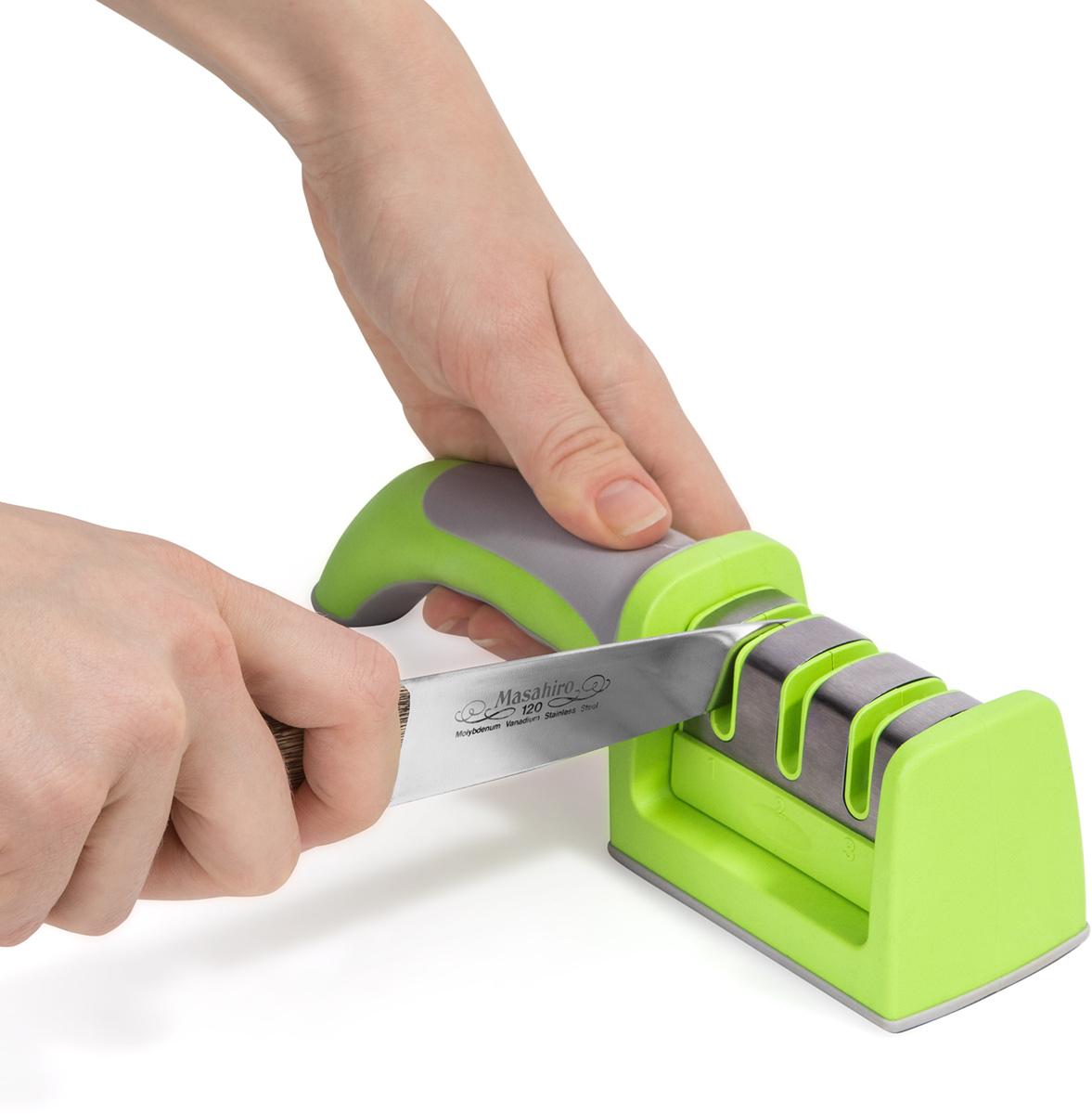 Ножеточка Wonder Worker Sharp, 21,5 х 5,5 х 5 см ножеточка wonder worker sharp 21 5 х 5 5 х 5 см