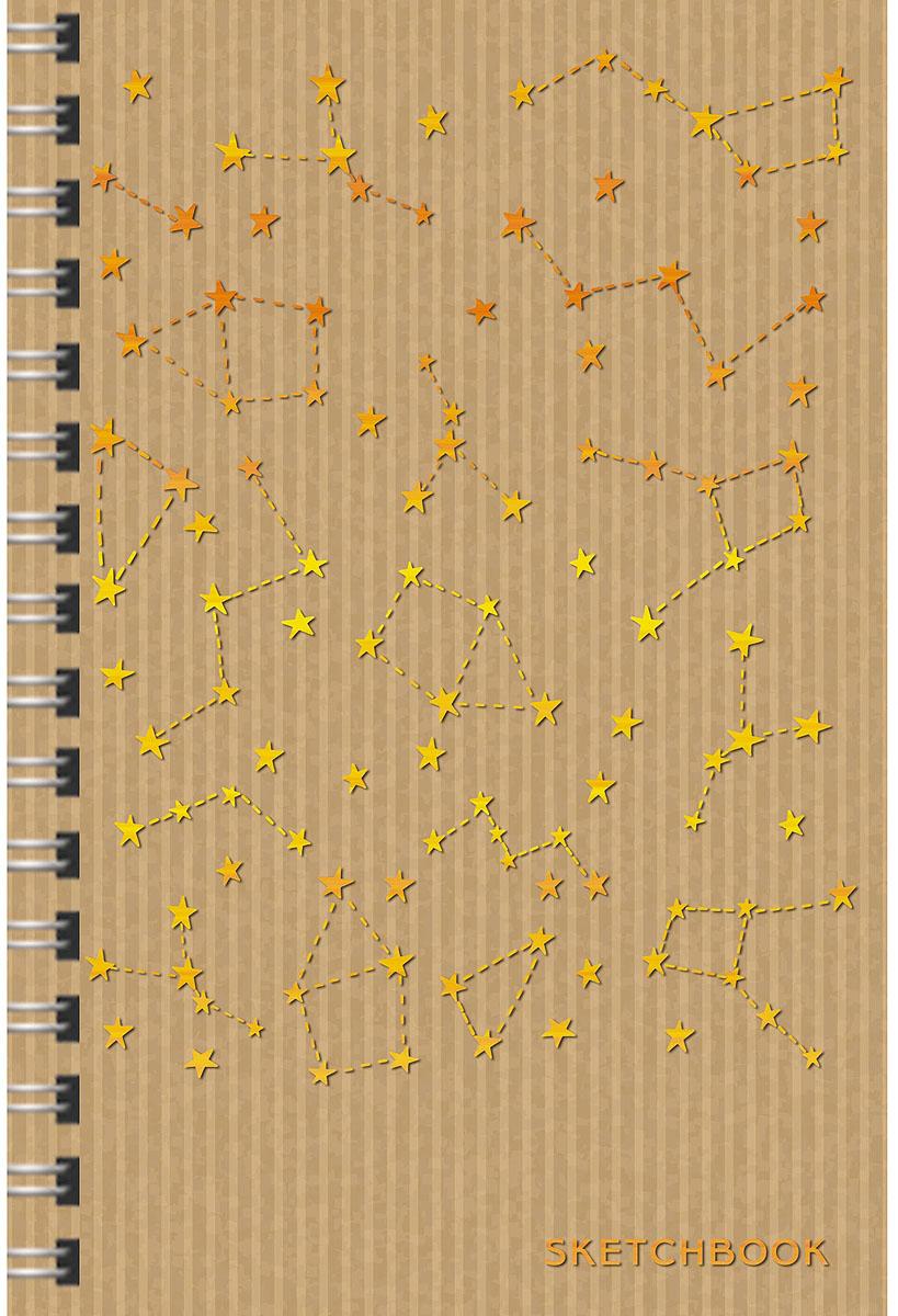 Listoff Скетчбук Созвездия 80 листов формат А5