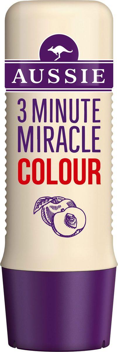Aussie Средство интенсивного ухода 3 Minute Miracle Colour, для окрашенных волос, 250 мл aussie средство интенсивного ухода 3 minute miracle moisture 250 мл