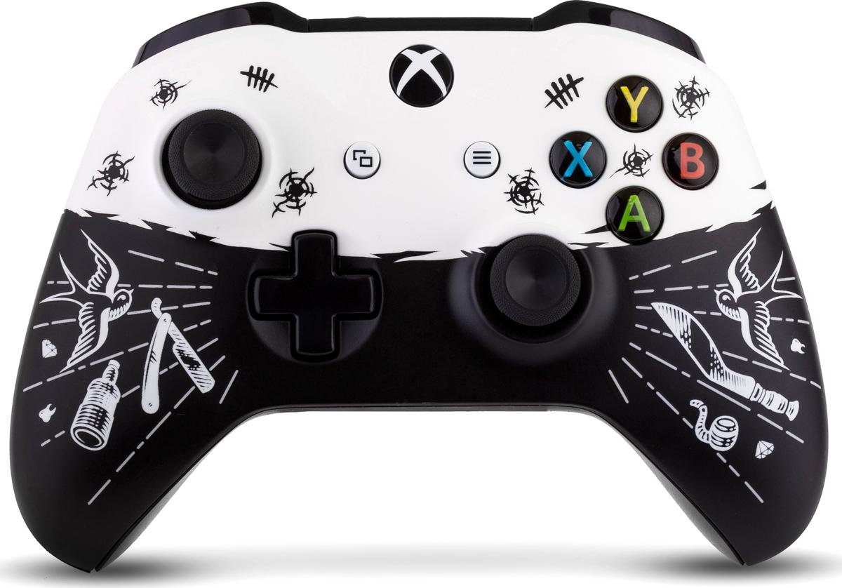 Microsoft Disgusting men беспроводной геймпад для Xbox One зарядная станция с 2 я аккумуляторами black horns для геймпадов xbox one