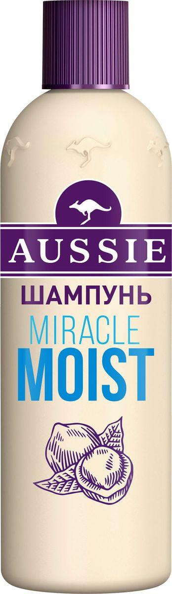 Aussie Шампунь Miracle Moist, для сухих и поврежденных волос, 300 мл шампунь aussie repair miracle д поврежд волос 300мл жен