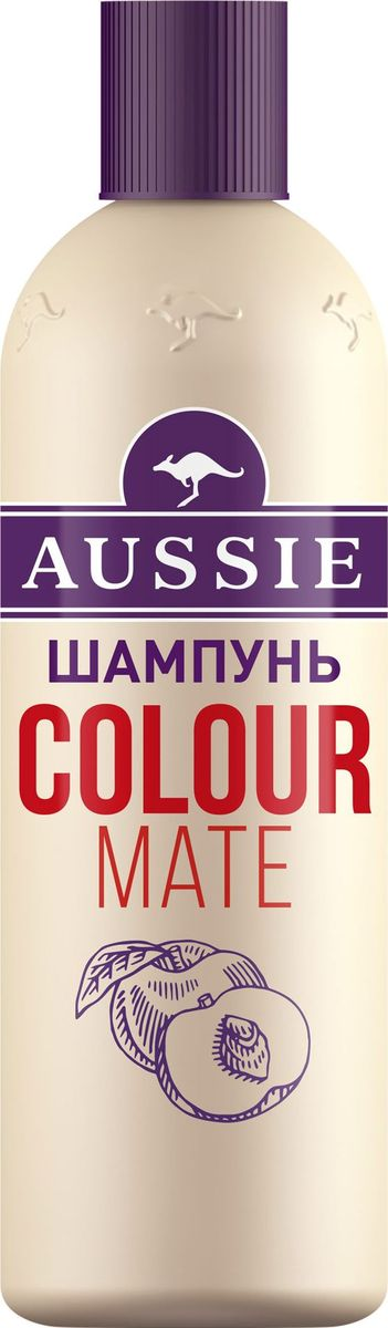 Aussie Шампунь Colour Mate, для окрашенных волос, 300 мл шампунь aussie repair miracle д поврежд волос 300мл жен