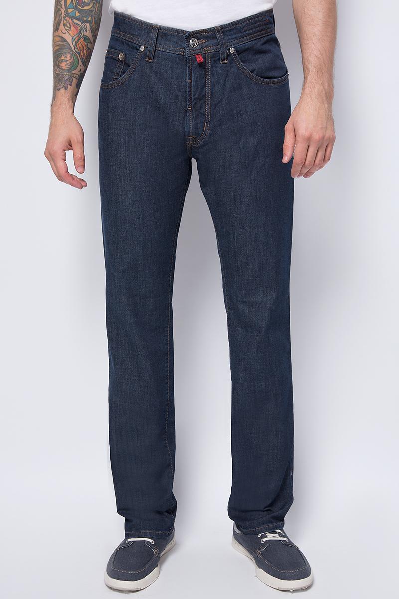 Джинсы мужские Pierre Cardin, цвет: синий. 041.3196-1.7330.43. Размер 32-34 (48-34)041.3196-1.7330.43Джинсы прямого кроя средняя посадка.
