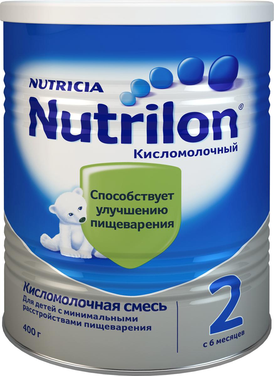 Nutrilon Кисломолочный 2 специальная молочная смесь, с 6 месяцев, 400 г