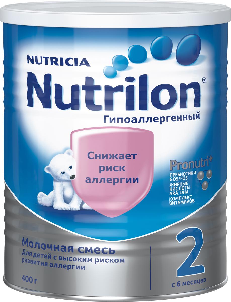 "Nutrilon ГА 2 специальная молочная смесь, гипоаллергенная ""PronutriPlus"", с 6 месяцев, 400 г"