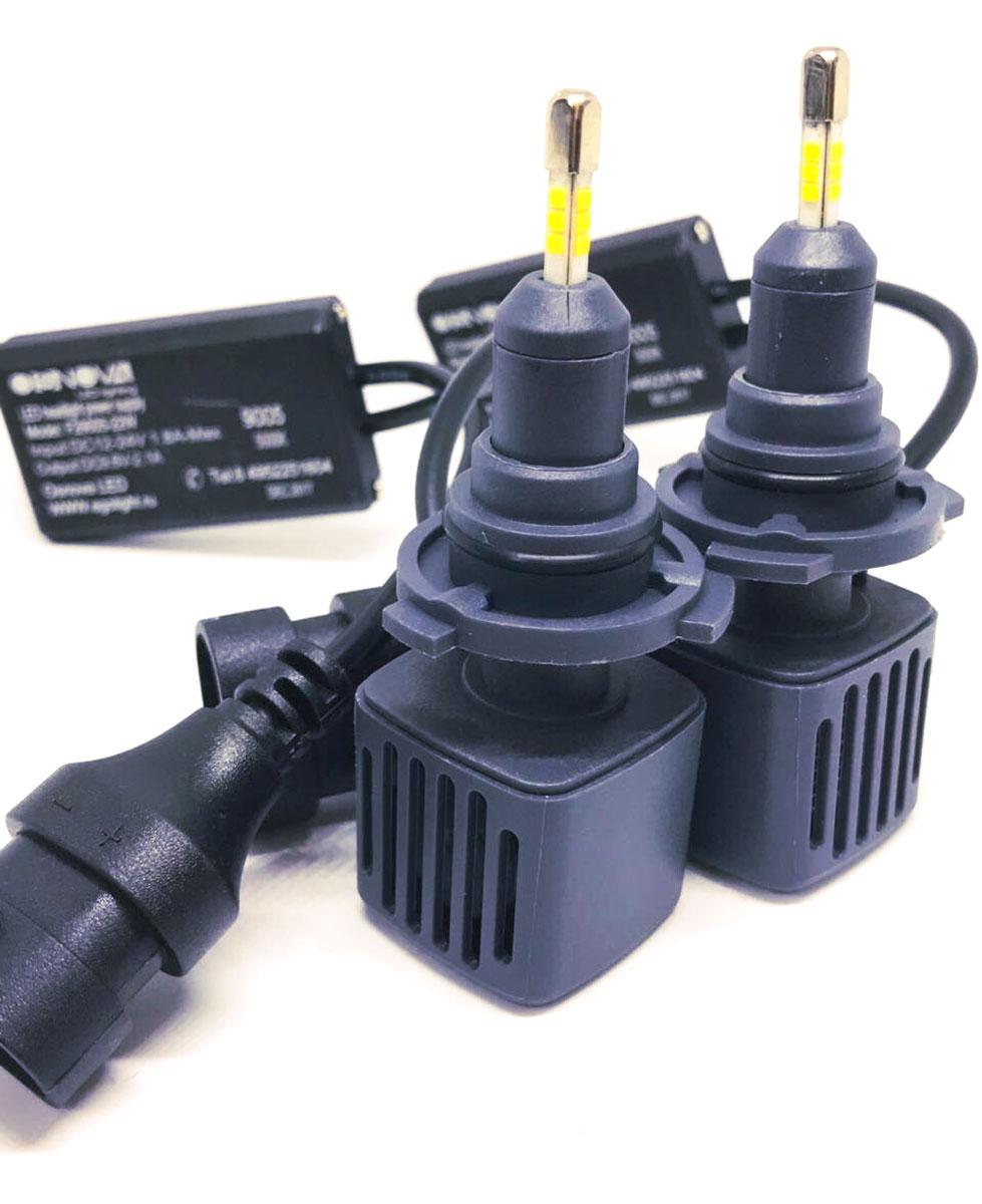 """Лампа автомобильная светодиодная """"OsnovaLed"""", цоколь HB3, 5000 К, 26 Вт, 2 шт"""