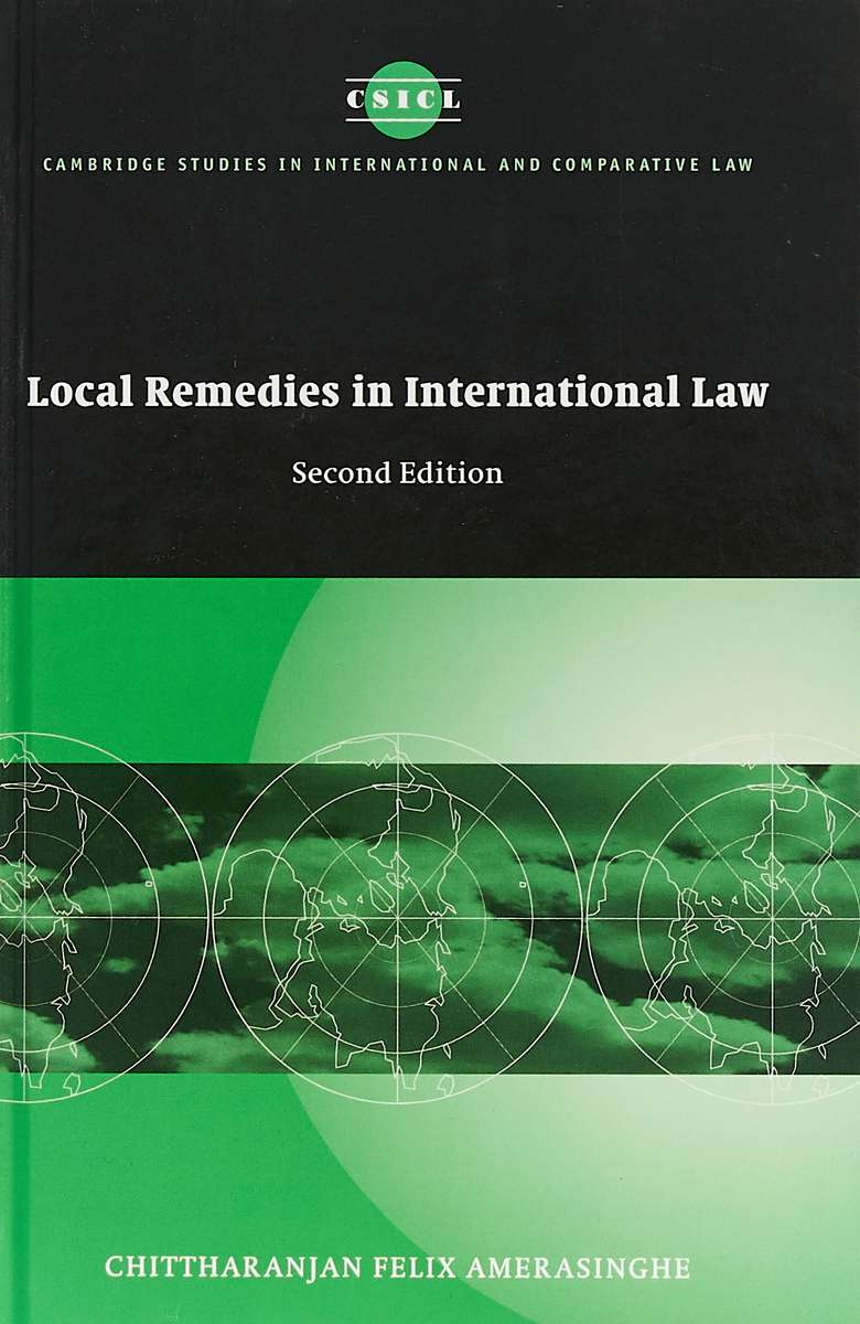 цены на Local Remedies in International Law  в интернет-магазинах
