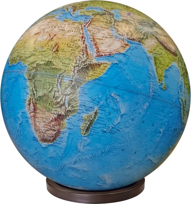 Глобус Глобусный мир, с физической картой мира, настольный, диаметр 64 см глобусный мир глобус с физической картой рельефный диаметр 25 см на деревянной подставке