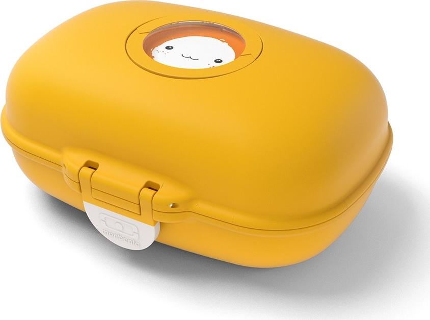 """Ланч-бокс Monbento """"Gram"""", цвет: горчичный, 6,5 х 15,4 х 11 см"""
