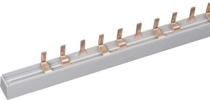 Шина соединительная IEK, PIN 1ф 63А, длина 1 м. YNS21-1-063