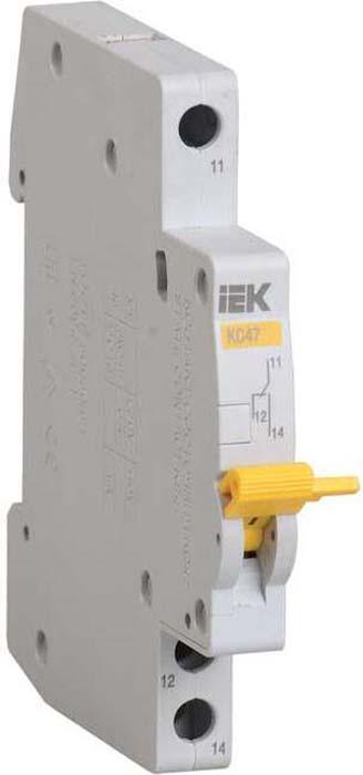 Контакт состояния на DIN-рейку IEK КС47. MVA01D-KS-1
