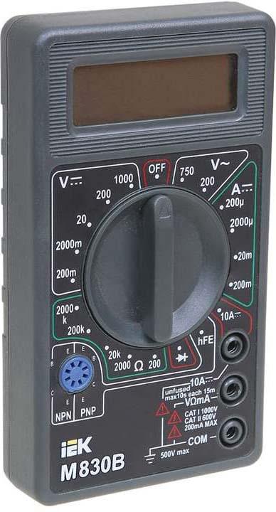 Мультиметр цифровой IEK Universal M830B цена