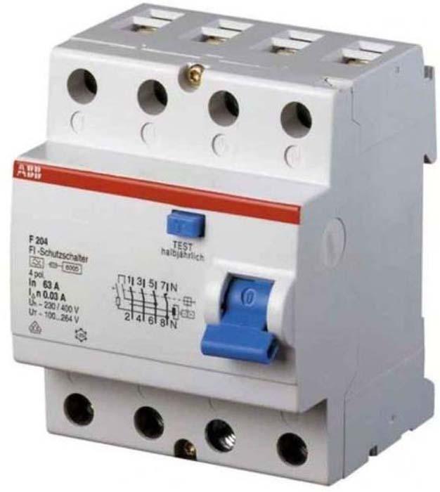 Выключатель дифференциального тока