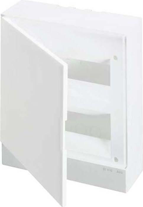 Бокс настенный ABB Basic, E 24М непрозрачная дверь, с клеммами, 1SZR004002A2107 щиты для кухни