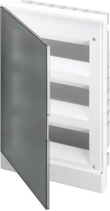 Бокс в нишу ABB Basic, E 36М прозрачная дверь, 3 ряда с клемм, 1SZR004002A1209 щиты для кухни