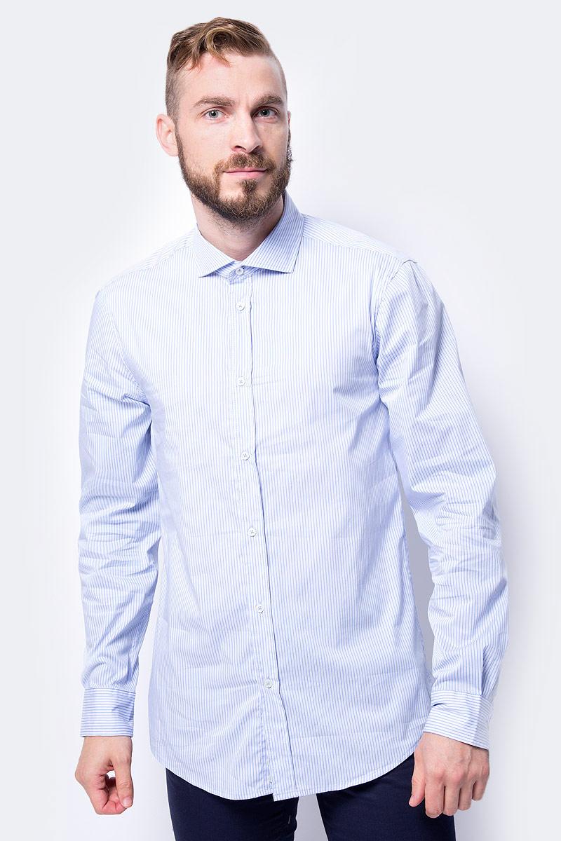 Рубашка United Colors of Benetton рубашка мужская united colors of benetton цвет голубой 5dly5qer8 20b размер 3xl 56 58