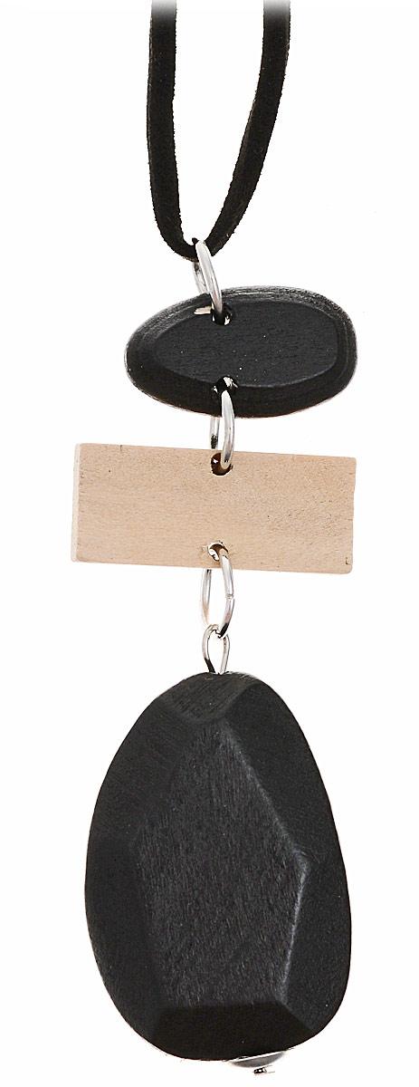 Ожерелье Sela, цвет: черный. Ank-147/454-8310 брюки женские sela цвет темно серый меланж p 115 874 8310 размер 42