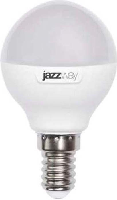 """Лампа светодиодная """"Jazzway"""", шар, цвет: белый, PLED-SP-G45, 7Вт, 3000К, E14, 540лм, 230В. 4690601027856"""