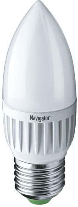 Лампочка Navigator, Теплый свет 7 Вт, Светодиодная