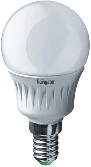 Лампочка Navigator, Нейтральный свет 7 Вт, Светодиодная лампочка navigator 94 131 nll g45 5 230 4k e14