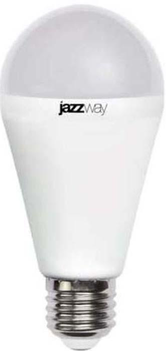 """Лампа светодиодная """"Jazzway"""", грушевидная, цвет: белый, PLED-SP, A60, 18Вт, 3000К, E27, 1820лм, 230В. 4897062853530/4895205006188"""