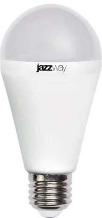 """Лампа светодиодная """"Jazzway"""", грушевидная, цвет: белый, PLED-SP, A60, 18Вт, 5000К, E27, 1600лм, 230В. 4897062853561/4895205006218"""