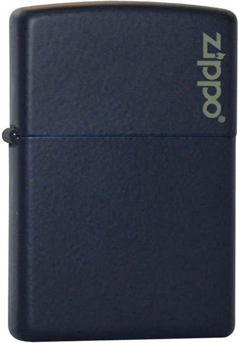 """Зажигалка Zippo """"Classic"""", цвет: синий, 3,6 х 1,2 х 5,6 см. 18920"""