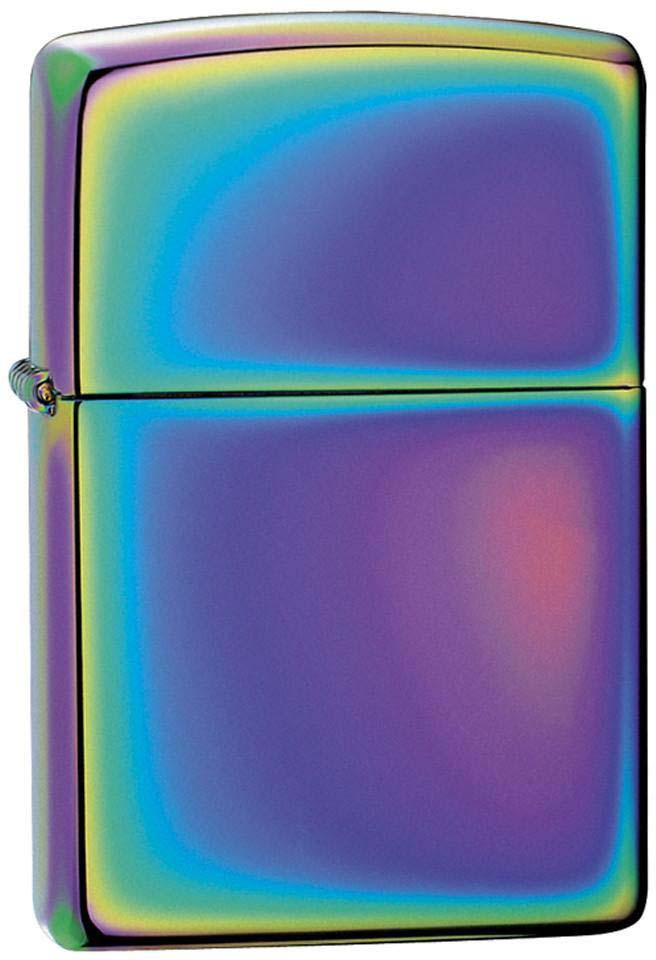 "Зажигалка Zippo ""Classic"", цвет: разноцветный, 3,6 х 1,2 х 5,6 см. 21082"