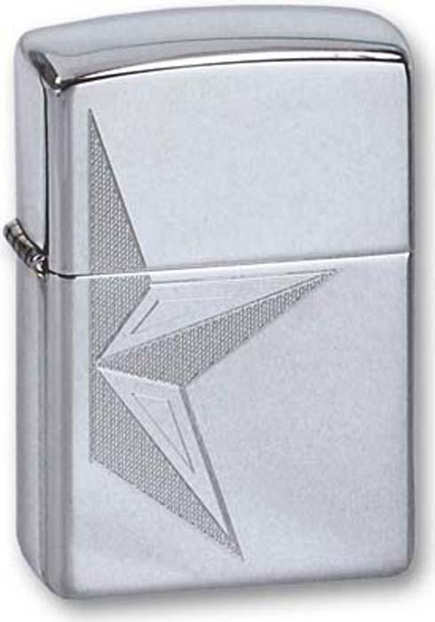 """Зажигалка Zippo """"Classic"""", цвет: серебристый, 3,6 х 1,2 х 5,6 см. 260 HALP STAR"""