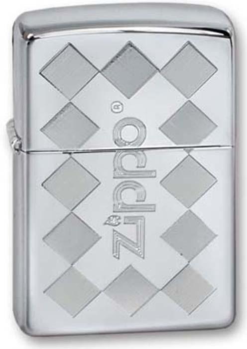 """Зажигалка Zippo """"Classic"""", цвет: серебристый, 3,6 х 1,2 х 5,6 см. 250 ZIPPO FRAMED"""