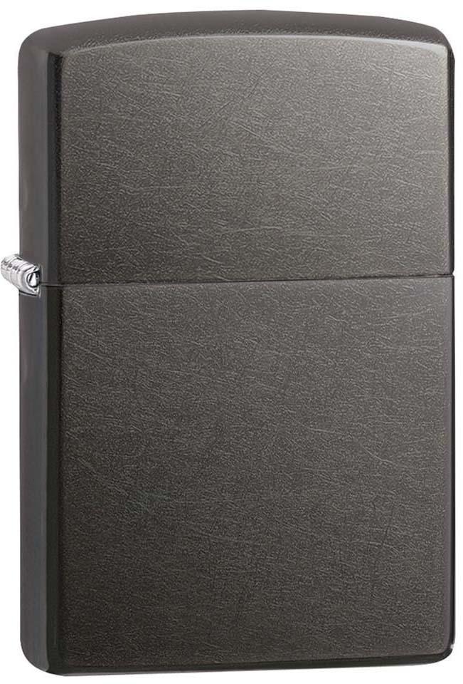 """Зажигалка Zippo """"Classic"""", цвет: серый, 3,6 х 1,2 х 5,6 см. 40161"""