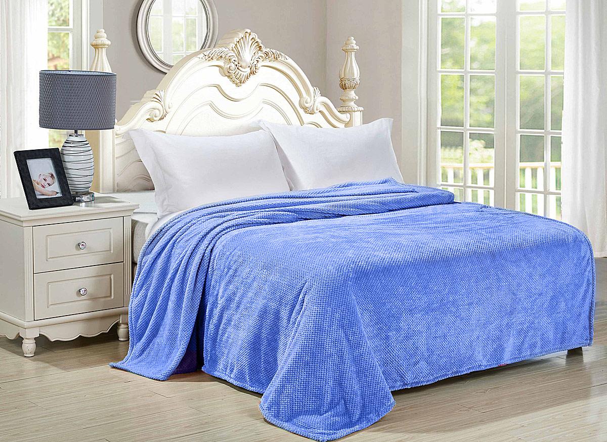 Плед-покрывало Guten Morgen Деним, цвет: серо-синий, 150 х 200 см плед покрывало guten morgen ривьера цвет синий 200 х 220 см
